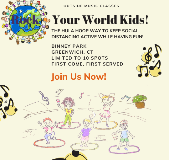 Rock Your World Kids Music Class | in the Park | 6 months to 5 years old