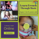 french for kids babies toddlers online