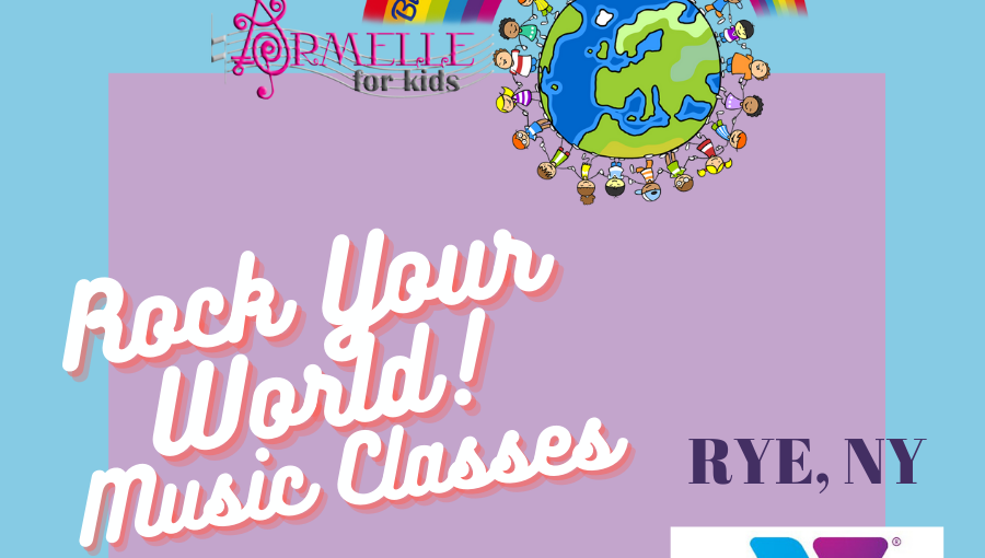 Rock Your World Kids! Music Class   2 to 5 years old   Fall 21/Winter 22