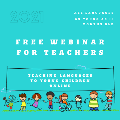 How to Teach Languages to Young Children Online FREE WEBINAR